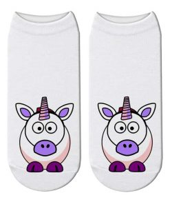 Unicorn Socks Cownicorn