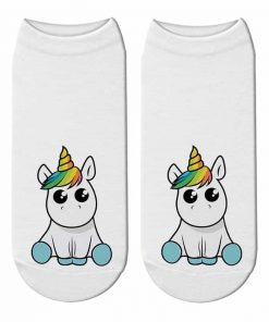 Unicorn Socks Kawaii