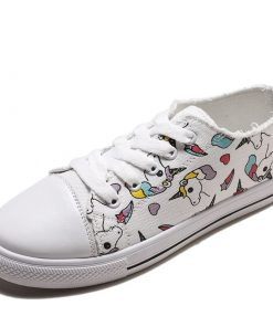Unicorn Shoes Girls Conver