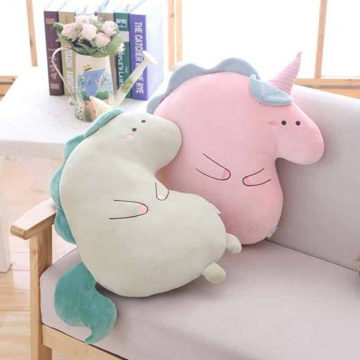 Unicorn Pillow Two Scoops