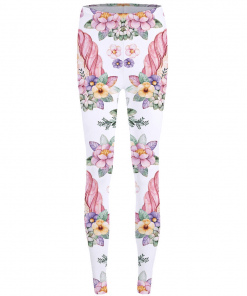 Unicorn Leggings Flowers