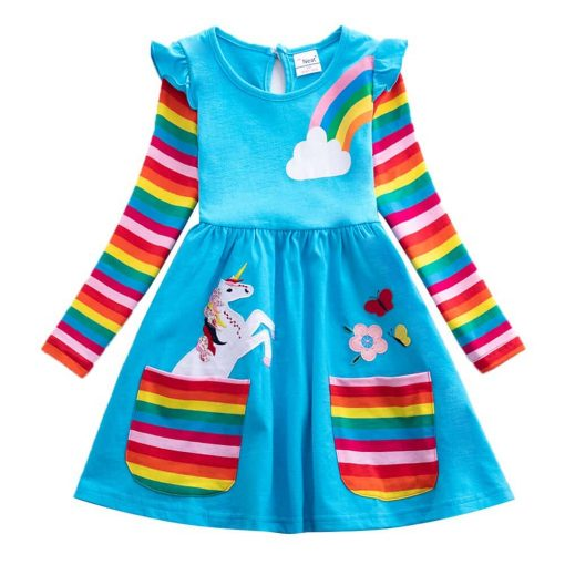 Unicorn Dress Size 7