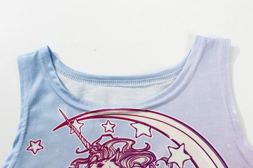 Unicorn Crop Top Forever