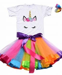 Unicorn Dress Tutu Girl