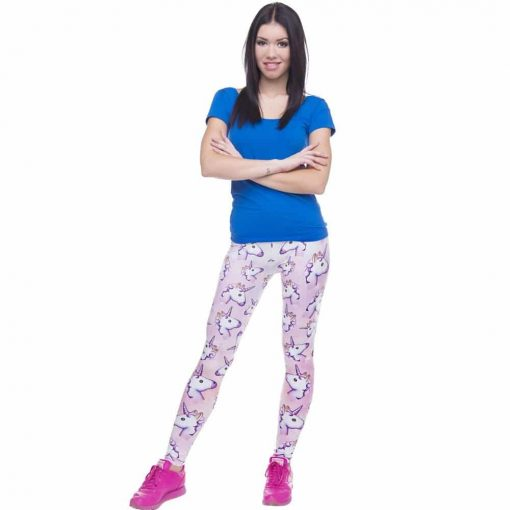 Unicorn Leggings Emoji