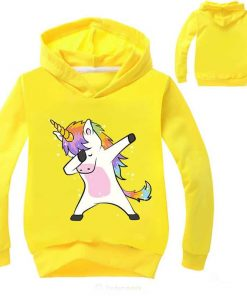 Unicorn Sweater Yellow