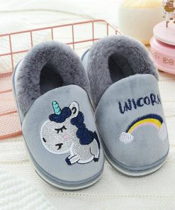 Unicorn Slippers Little Girl