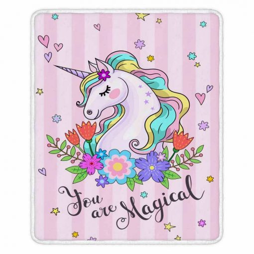 Unicorn Blanket With