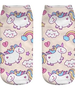 Unicorn Socks Ladies
