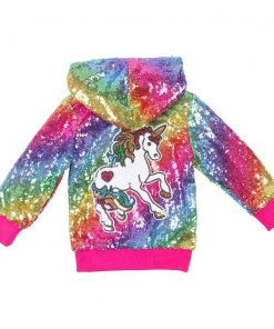 Unicorn Jacket Girl