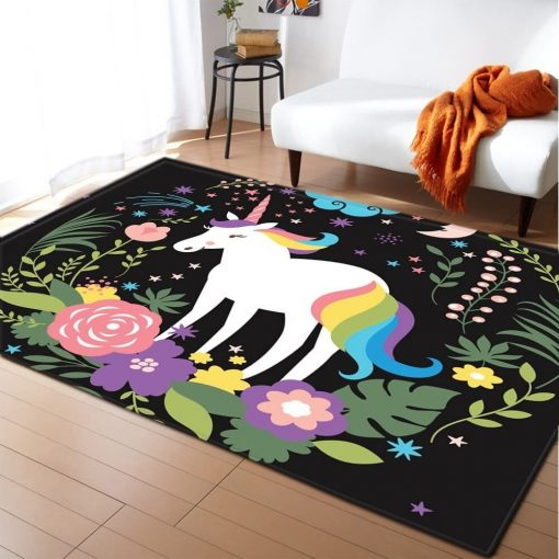 Unicorn Rug The Little Amazon Forest