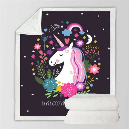 Unicorn Blanket Little Swaddle