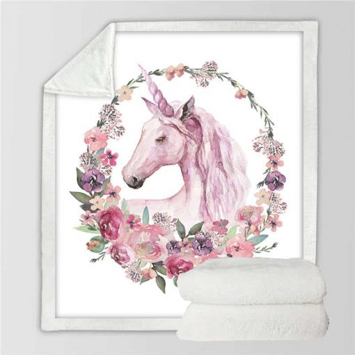 Unicorn Blanket Fleece