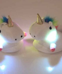 Unicorn Slippers Light Up