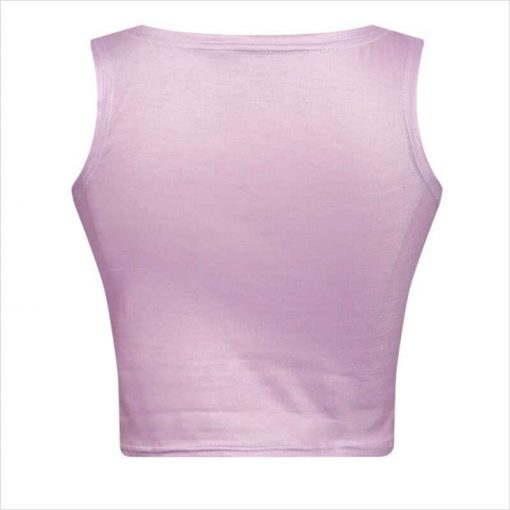 Unicorn Crop Top Pink