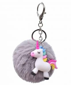 Unicorn Keychain Cute