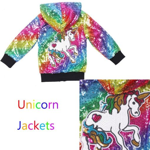 Unicorn Jacket Black