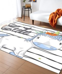 Unicorn Rug White