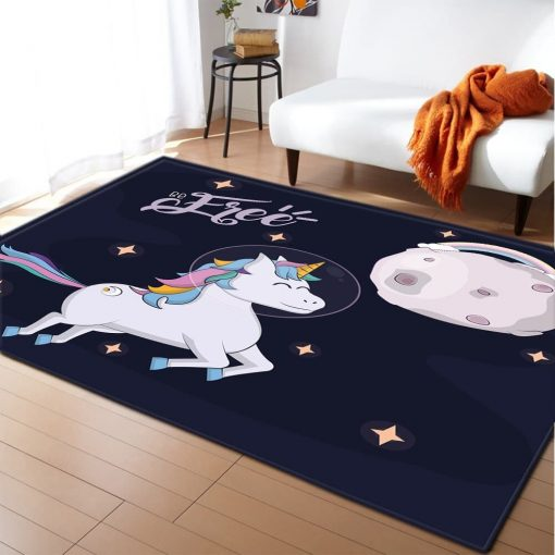 Unicorn Rug Moon