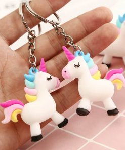 Unicorn Keychain Pooping