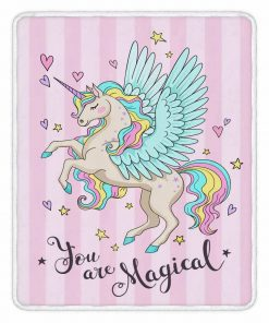 Unicorn Blanket Full Size