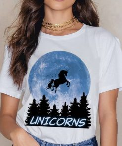 Unicorn Shirt Moon