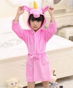 Unicorn Robe Children's