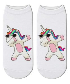 Unicorn Socks Dabbing