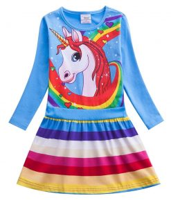 Unicorn Dress Party For Girl