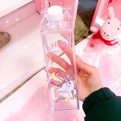 Unicorn Water Bottle Smile Spray