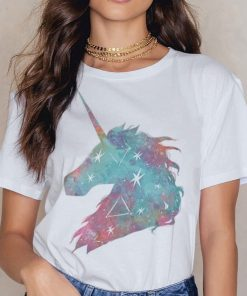 Unicorn Shirt Galaxy