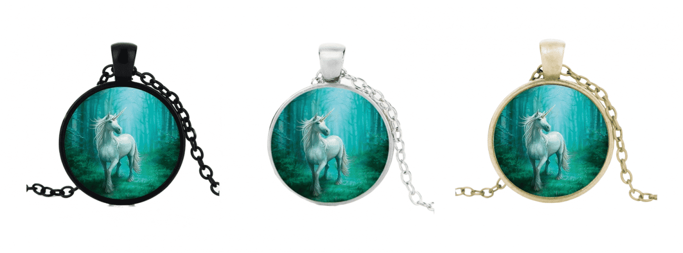 Gourmet Unicorn Necklace