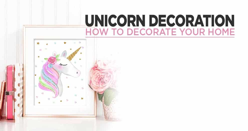 Choosing Your Own Unicorn Home Decoration