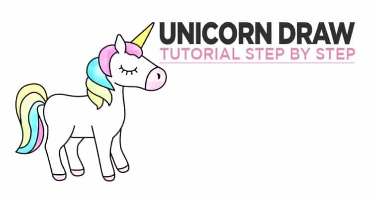 How To Draw Unicorn Step By Step