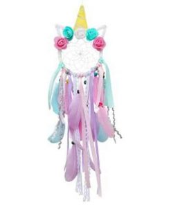 Unicorn Dream Catcher Purple