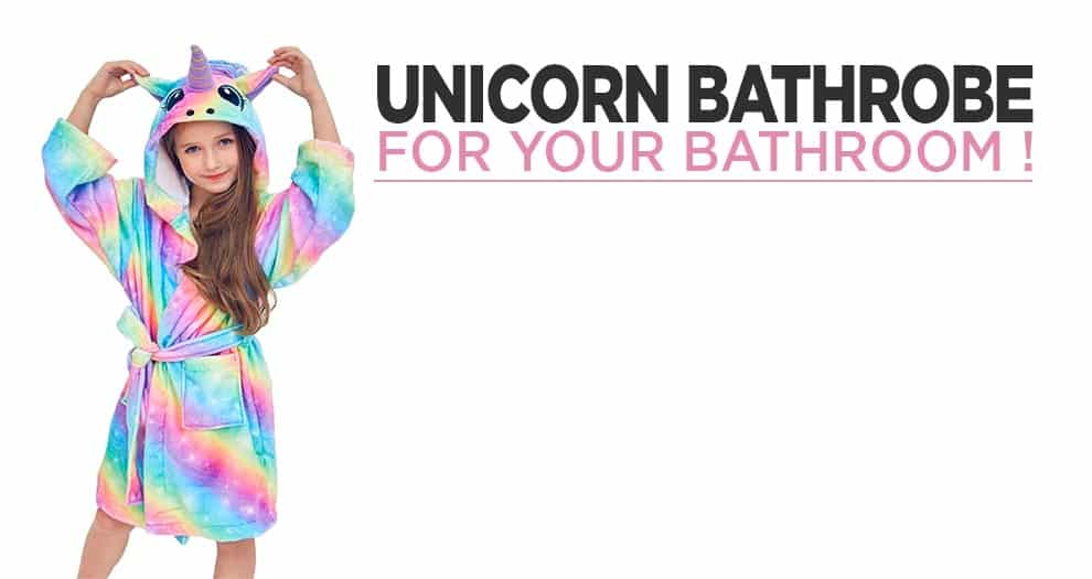 A Galactic Unicorn Bathrobe For Young And Old