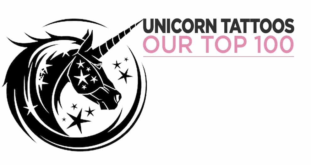 Our Top 100 Cuteest Unicorn Tattoos