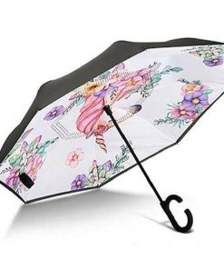 Unicorn Umbrella For Girls