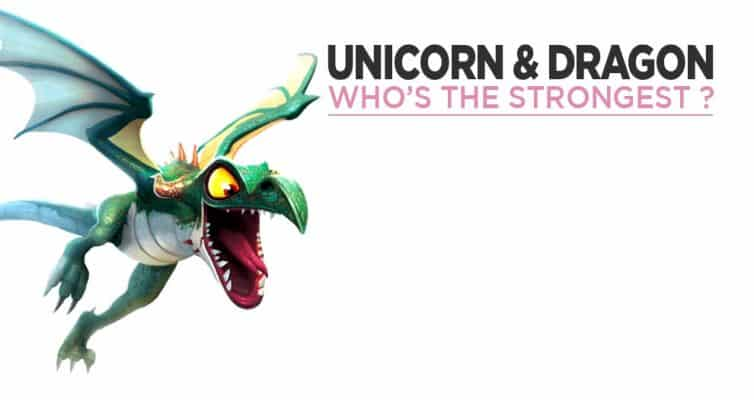 Unicorn vs Dragon Who is the strongest