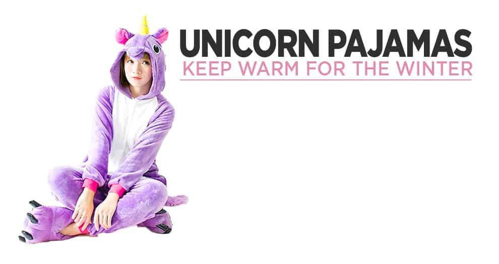 How To Be Warm In The Winter In Unicorn Pajamas ?