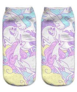 Unicorn Socks Wings