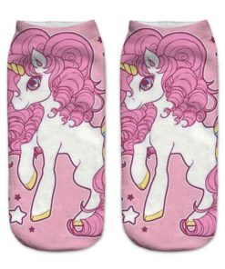 Unicorn Socks Girl
