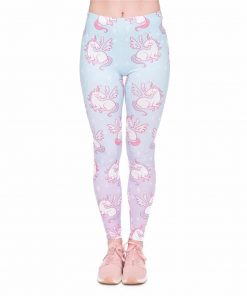 Unicorn Leggings Kawaii
