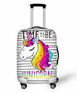 Unicorn Suitcase Time To Be A Unicorn