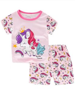 Unicorn Pajamas Shorts