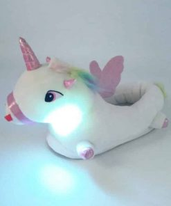 Unicorn Slippers Enchanted Light Up