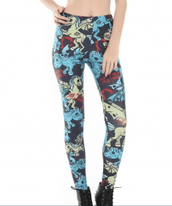 Unicorn Leggings Zombie