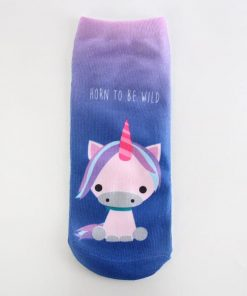 Unicorn Socks Cute