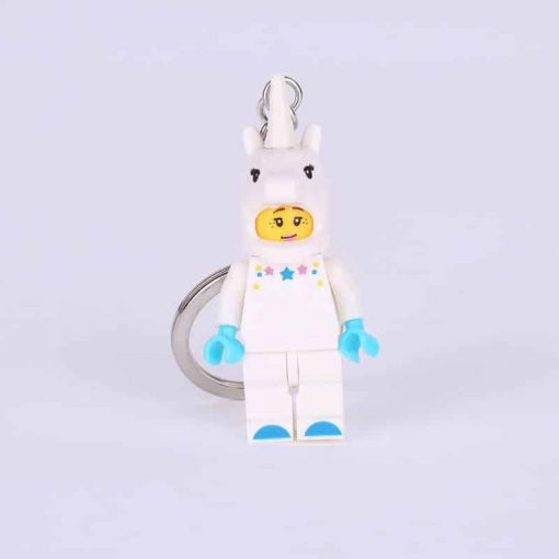 Lego Unicorn Girl Keyring
