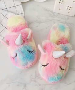 Unicorn Slippers Indoor